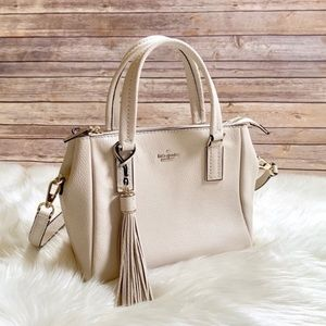 Kate Spade Small Satchel Naomi In Soft Limestone